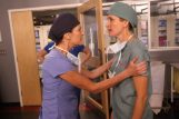 Wendy Crewson as Dana Kinney and Michelle Nolden as Dawn Bell