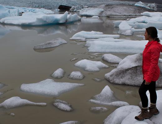 Fjallsárlón glacier lagoon
