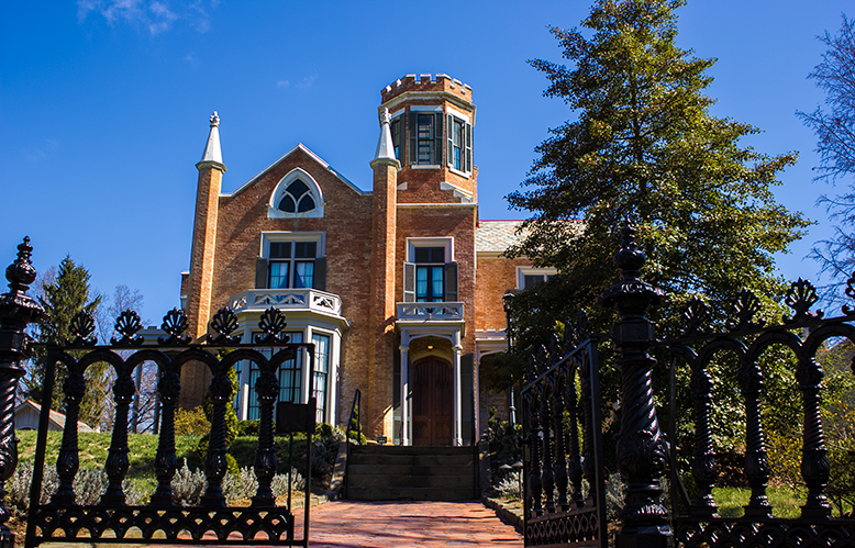 The Castle in Marietta Ohio - an example of gothic architecture