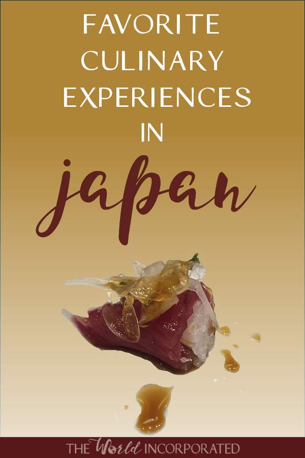 My favorite Japanese culinary experiences! Wondering what to eat in Japan? Add these food experiences to you trip to Japan. Know Japan travel is complete without indulging in the Japanese culinary scene. From Japanese sushi for breakfast to tasty Japanese street food, you'll need to bring your appetite.