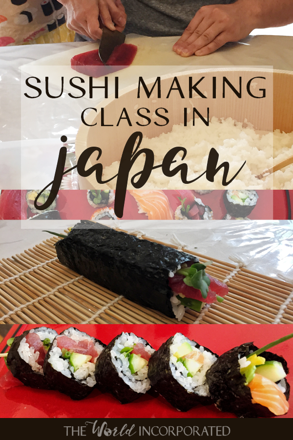 Take a sushi making class in Japan! This sushi making class is in Tokyo in the home of a sushi chef. Definitely a bucket list worthy experience for your trip to Japan!