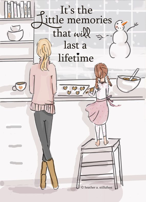 Cartoon Pictures I Love Girl Bakes