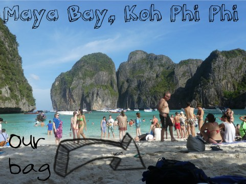 Our bag Koh phi phi