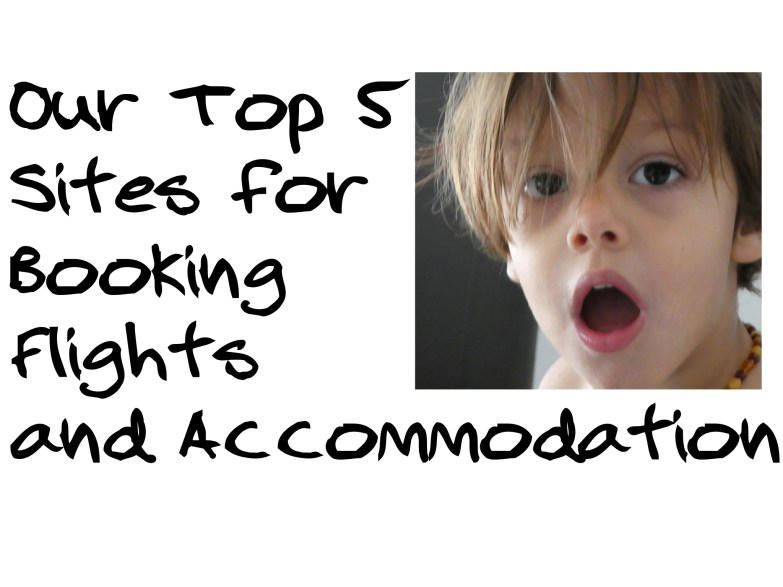 booking flights and accommodation