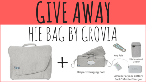 GIVE AWAY Hie Bag by GroVia