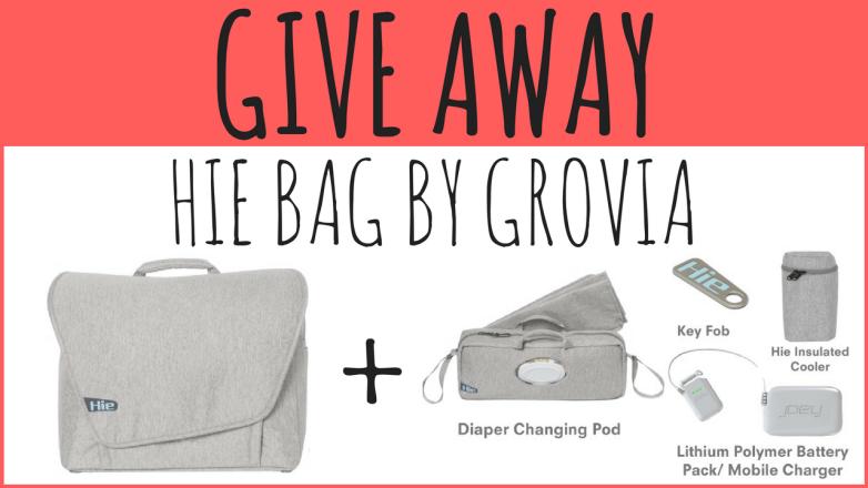 GIVE AWAY Hie Bag by GroVia