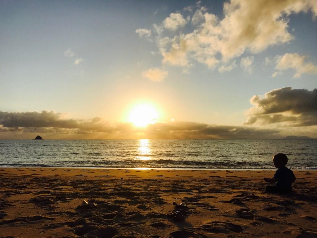 Sunrise beach Palm Cove