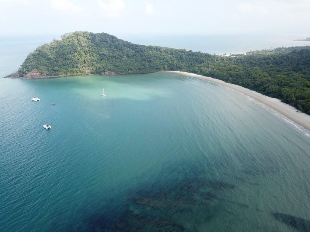 Cape Tribulation Drone Shot