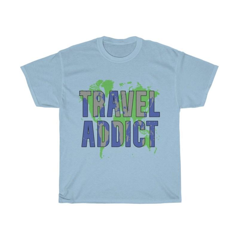 Travel Addict | Heavy Cotton Tee