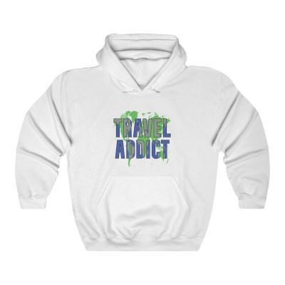 Travel Addict | Hooded Sweatshirt