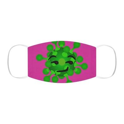Smirking Virus Face Mask (Purple)