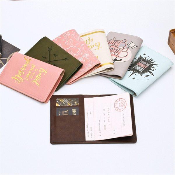 Fun Travel Print Passport Covers