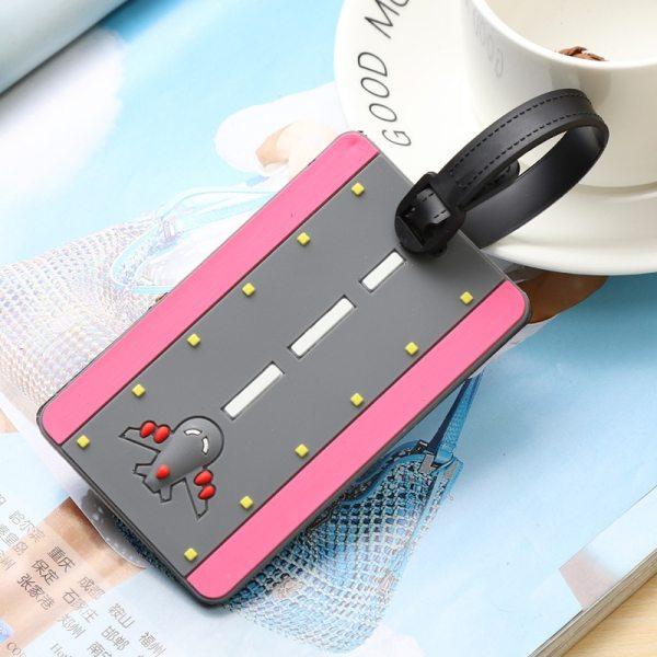 5 - Runway Pink - LITTLE TRAVELER LUGGAGE TAG