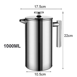 Travel Coffee Plunger | French Press | 1000mL