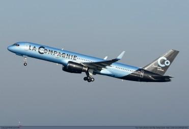 A La Compagnie 757-200. Copyright: BrunoA380