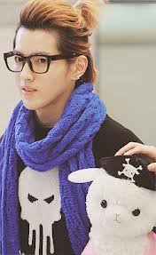 Kris with his 'Ace'
