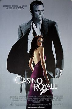 Eva Green on the poster of 'Casino Royale'