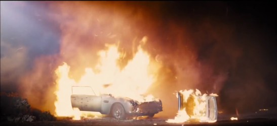 The car in 'Skyfall'