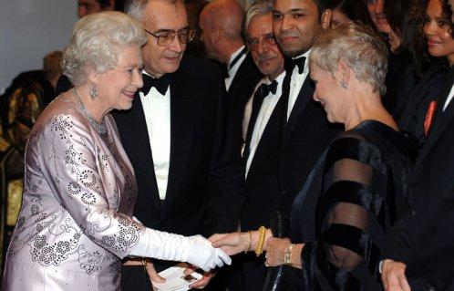 Her Majesty and Judi Dench