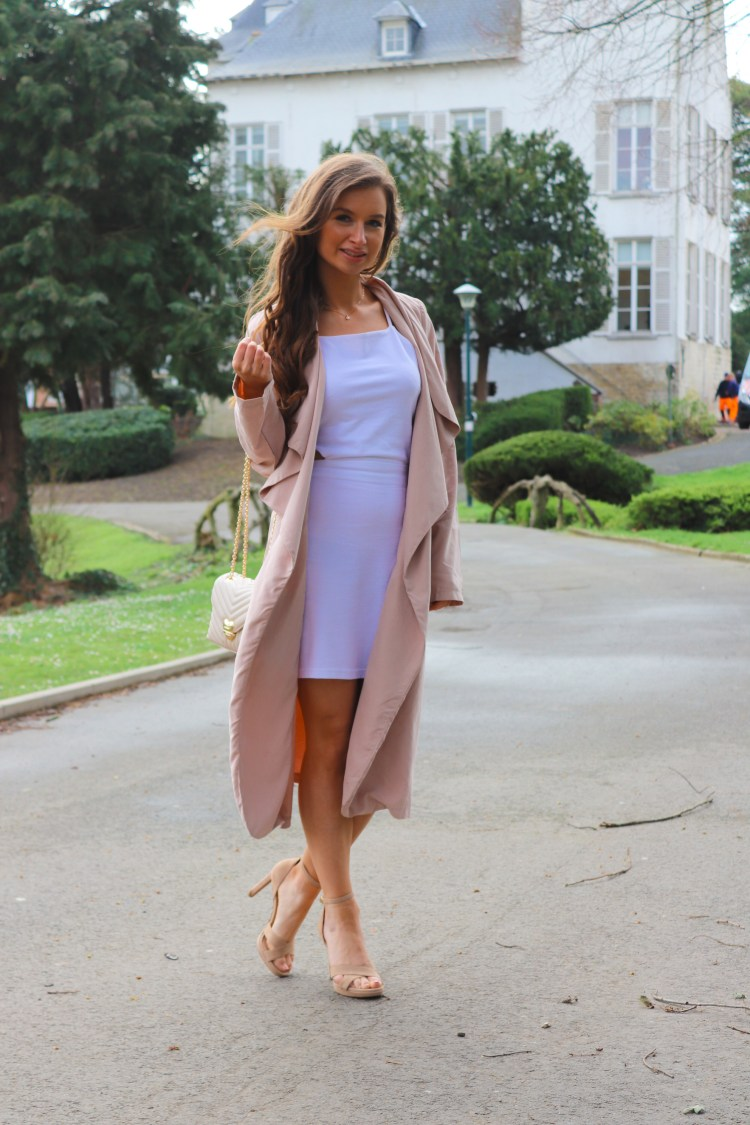 waterfall trench coat spring