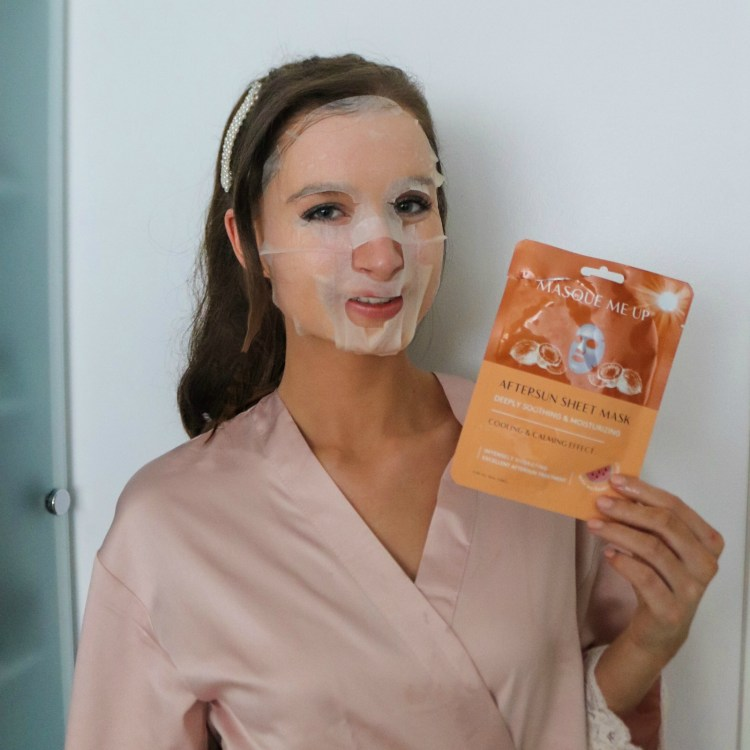 beauty blogger skin mask