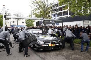 Mercedes-Benz, DTM, Stuttgart Untertürkheim