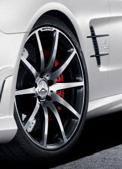 Mercedes-Benz SL AMG 2LOOK Edition, designo kaschmirweiß magno