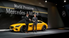 Weltpremiere: Der neue Mercedes-AMG GT, Affalterbach 2014World Premiere: The new Mercedes-AMG GT, Affalterbach 2014
