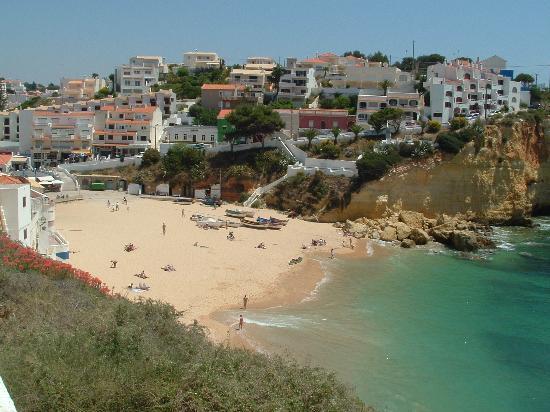 Beach at Carvoeiro