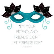 """Twinepathy Quote """"Friends"""" - Madeline J. Rose"""