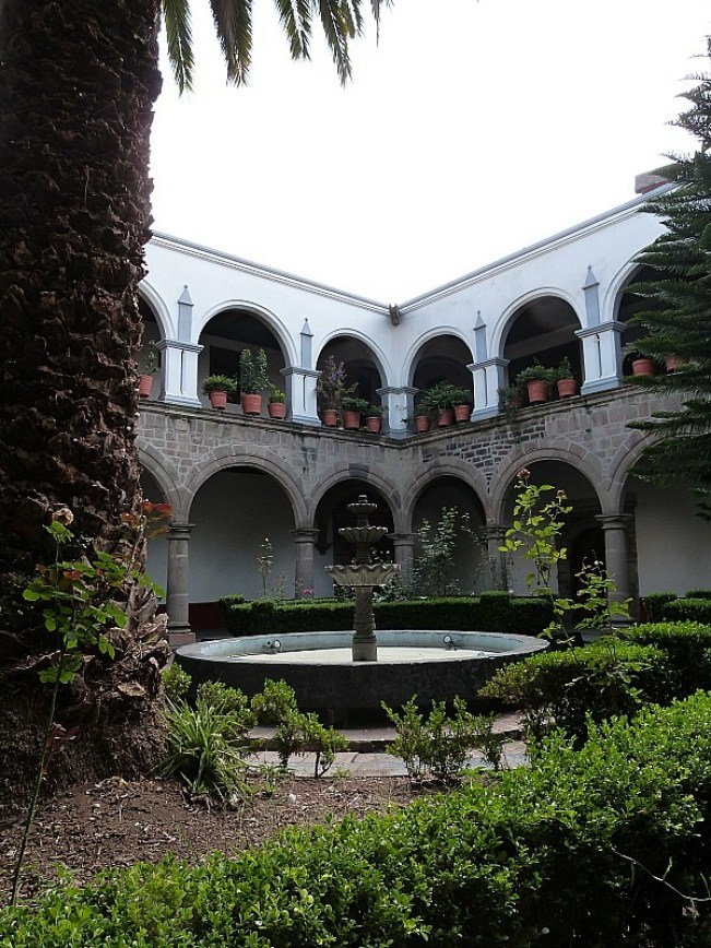 Courtyard in Mexico City