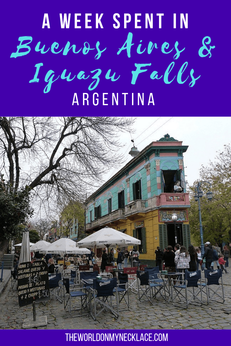 A Week in Buenos Aires and Iguazu Falls, Argentina