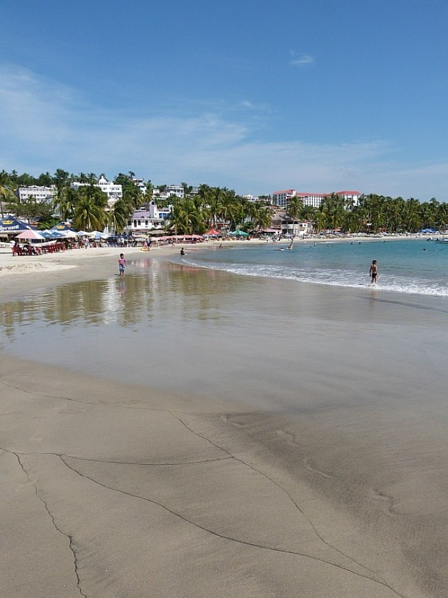 Beach in Puerto Escondido, Mexico