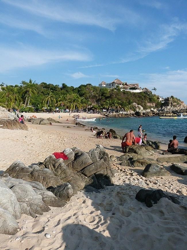 Playa Manzanillo in Puerto Escondido, Mexico