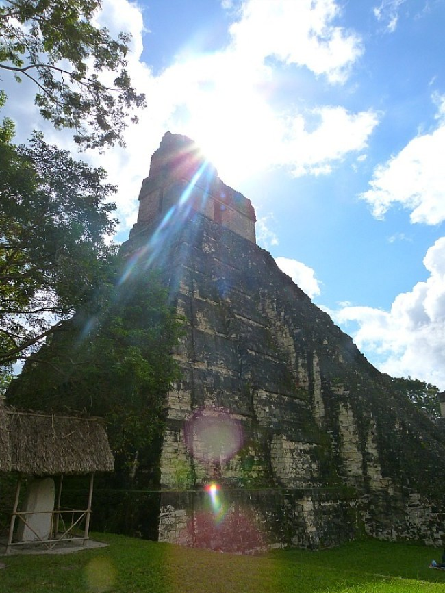 Temple in Tikal, Guatemala