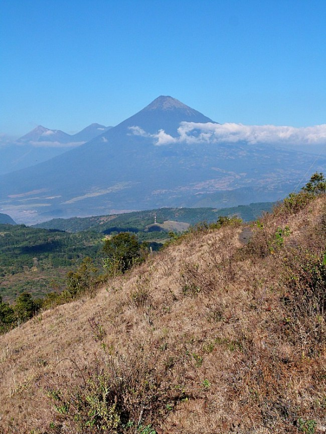 Hiking Volcan Pacaya near Antigua, Guatemala