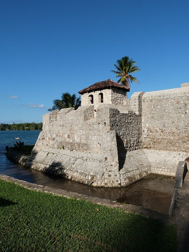 Fort in Rio Dulce, in the Izabal Region of Guatemala