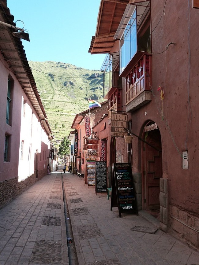 Pisac in the Sacred Valley of Peru