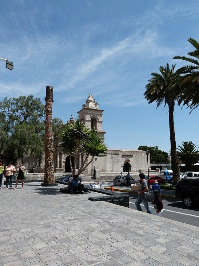 Plaza de Armas in Arequipa, Peru