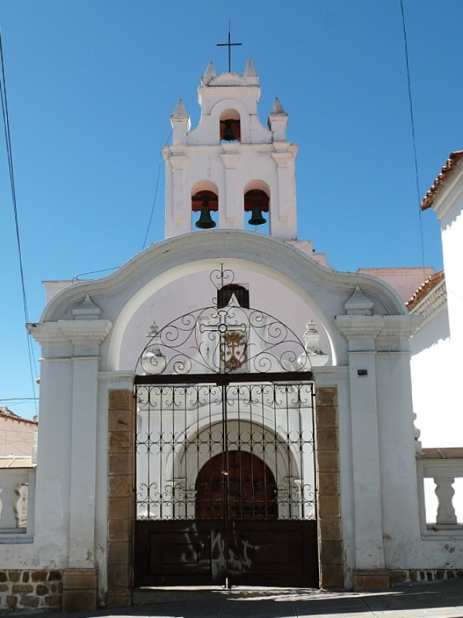 Church in Sucre, Southern Bolivia