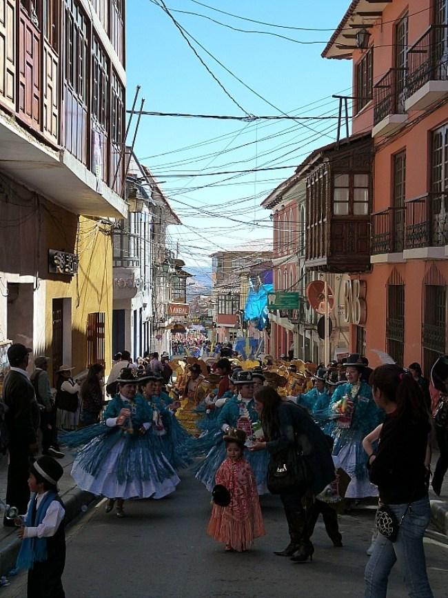 Festival in Potosi, Southern Bolivia