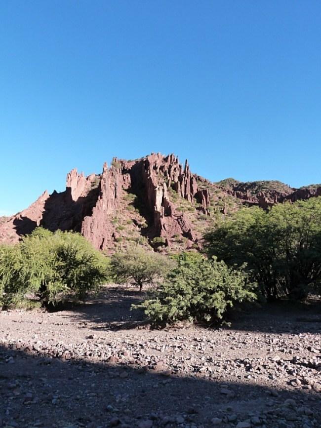 Red rocks around Tupiza, Southern Bolivia