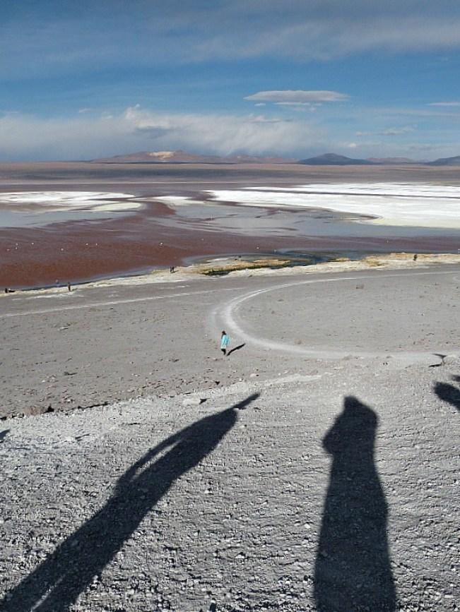 Laguna Colorada in remote South West Bolivia