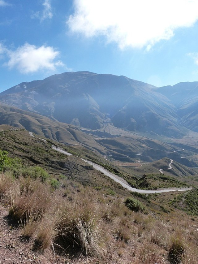 Mountain road to Cachi, Northern Argentina