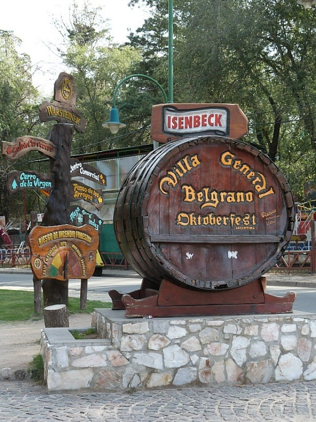 The German town of Villa General Belgrano in Northern Argentina
