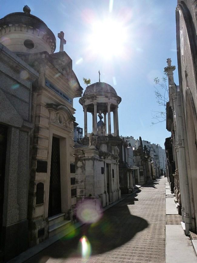 Recoleta Cemetery in Buenos Aires, Argentina