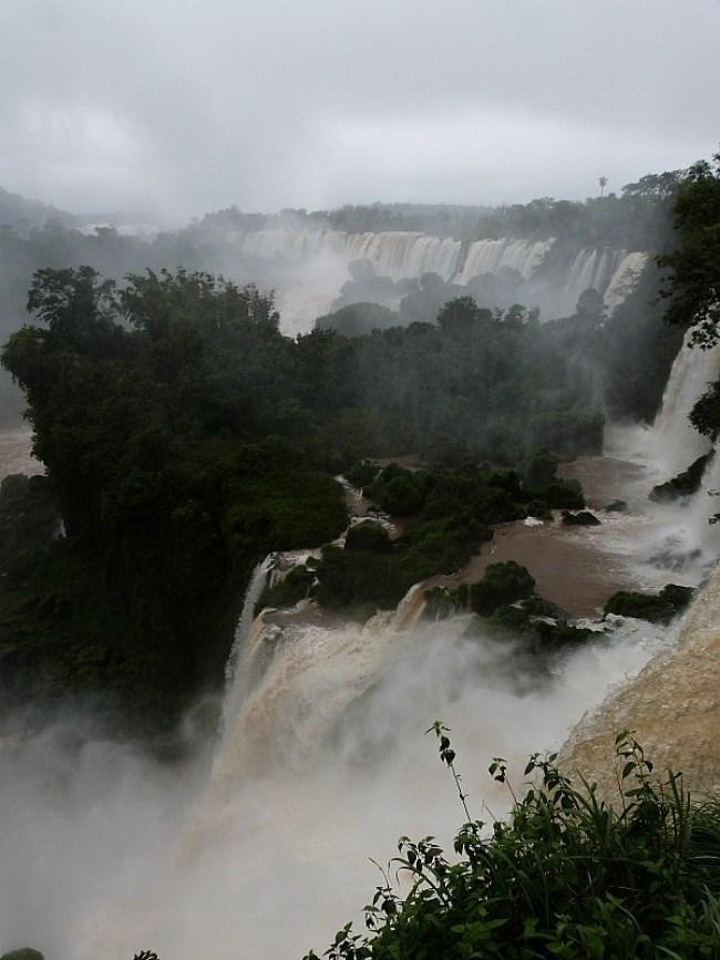 Iguazu Falls in Northern Argentina