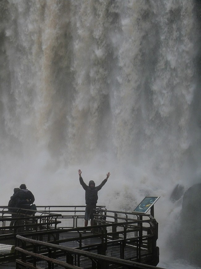 Witnessing the power of Iguazu Falls in Northern Argentina