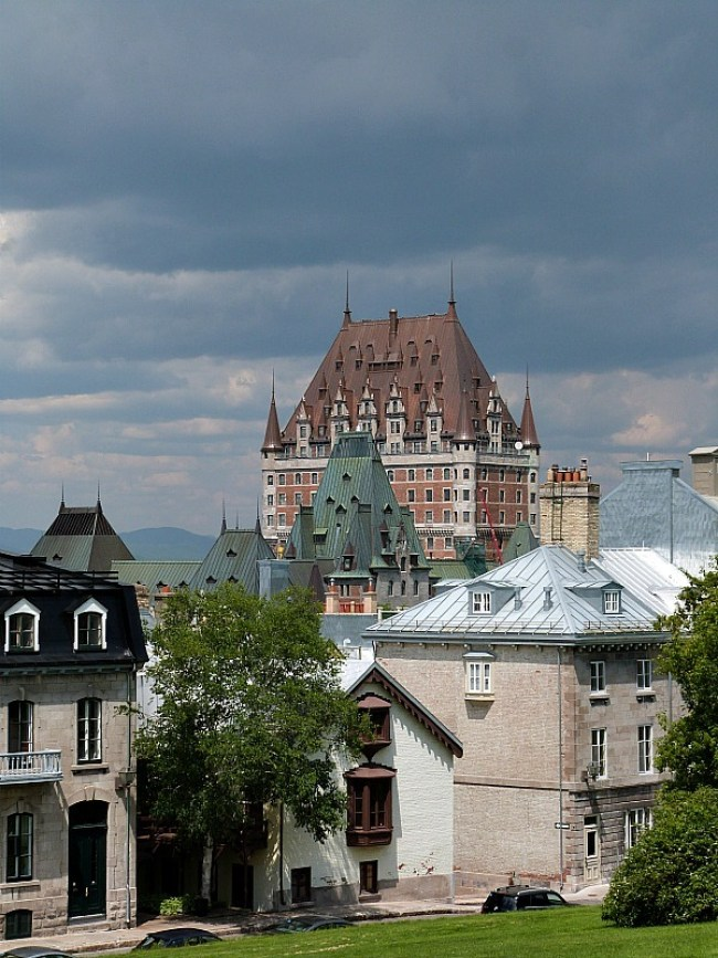 Chateau de Frontenac in Quebec City