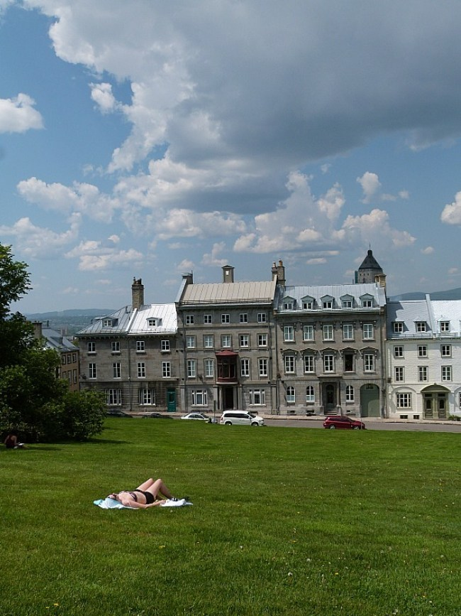 Green space in Quebec City